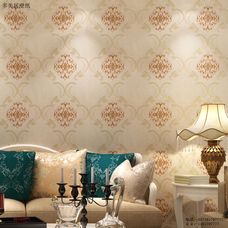 2,选灯光 看墙布在灯光下的效果,有的墙布白天看上去很漂亮,可是到